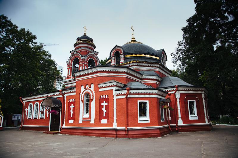 Храм Сергия Радонежского в Бусиново