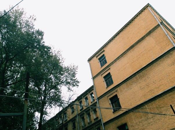 Дом Привалова, строение 1, вид со двора