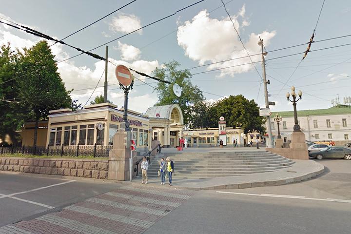 Павильоны на Кропоткинской