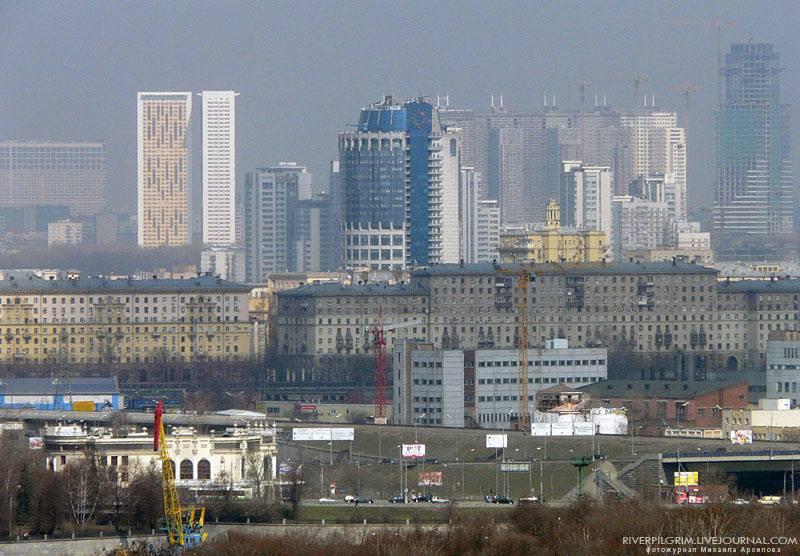 Вид на современную Москву